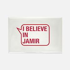 I Believe In Jamir Rectangle Magnet
