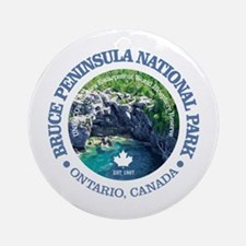 Bruce Peninsula National Park Round Ornament