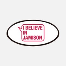 I Believe In Jamison Patches