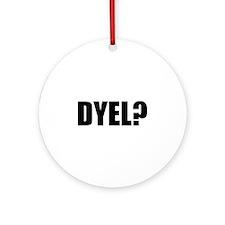 Do You Even Lift? Ornament (Round)
