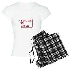 I Believe In Jaron Pajamas