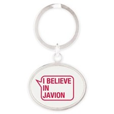 I Believe In Javion Keychains