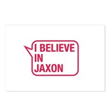 I Believe In Jaxon Postcards (Package of 8)