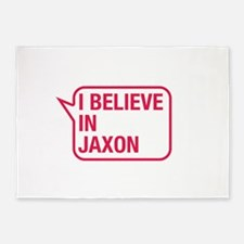 I Believe In Jaxon 5'x7'Area Rug