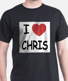 I heart chris T-Shirt