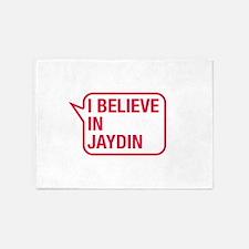I Believe In Jaydin 5'x7'Area Rug
