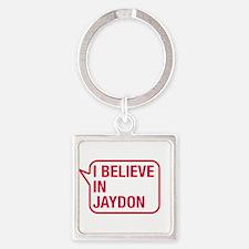 I Believe In Jaydon Keychains
