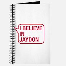 I Believe In Jaydon Journal