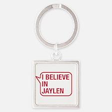 I Believe In Jaylen Keychains