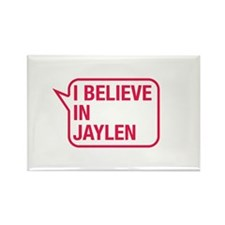 I Believe In Jaylen Rectangle Magnet
