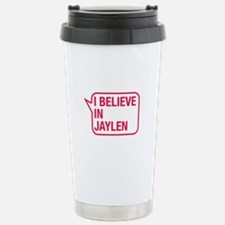 I Believe In Jaylen Travel Mug