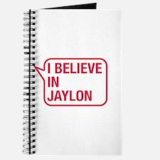 I Believe In Jaylon Journal