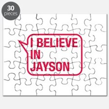 I Believe In Jayson Puzzle