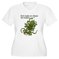 Don't make Me Release The Kraken Funny Plus Size T