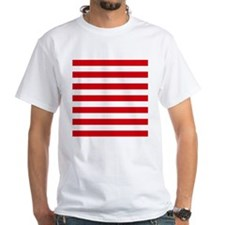 Red and white horizontal stripes T-Shirt