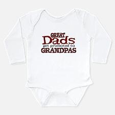 Grandpa Promotion Long Sleeve Infant Bodysuit
