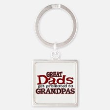 Grandpa Promotion Square Keychain