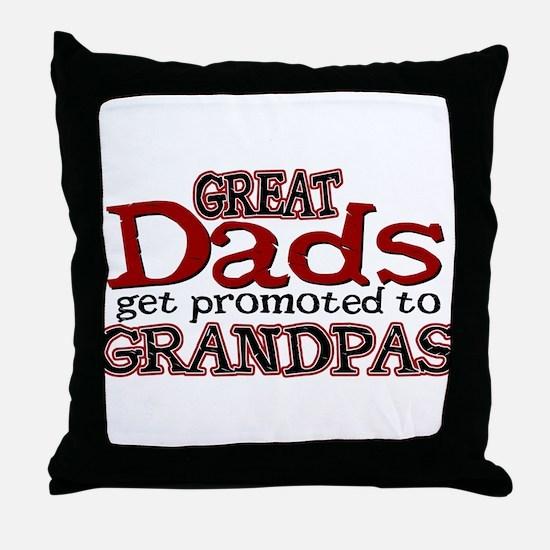 Grandpa Promotion Throw Pillow