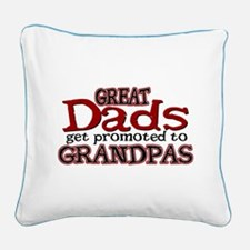 Grandpa Promotion Square Canvas Pillow