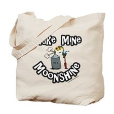 Make Mine Moonshine Tote Bag