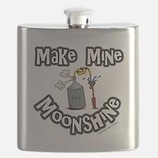 Make Mine Moonshine Flask