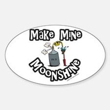 Make Mine Moonshine Decal