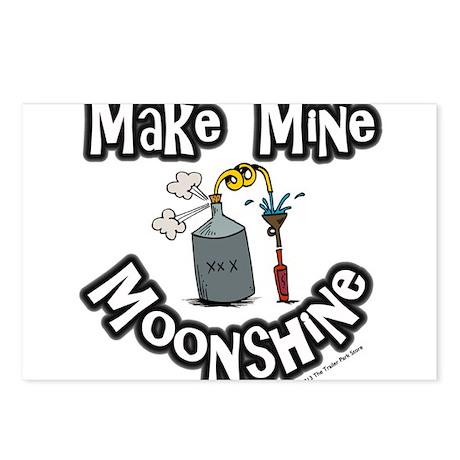 Make Mine Moonshine Postcards (Package of 8)