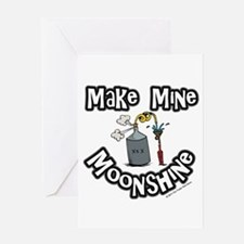 Make Mine Moonshine Greeting Card