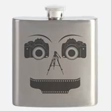 PHOTOGRAPHER FACE Flask