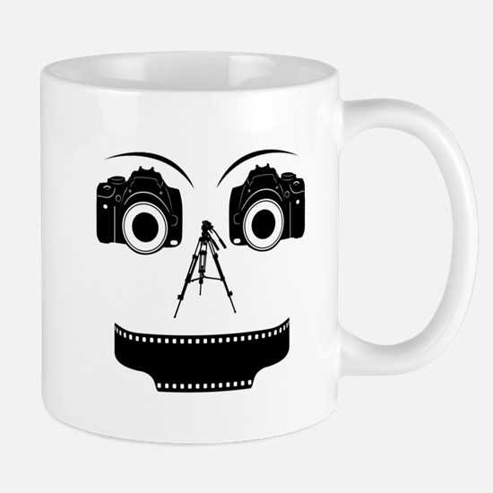 PHOTOGRAPHER FACE Mug