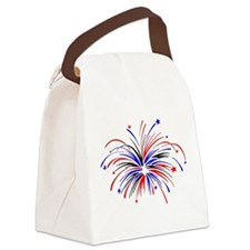firework.JPG Canvas Lunch Bag