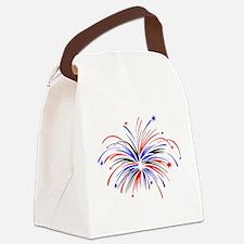 firework.JPG Canvas Lunch Bag
