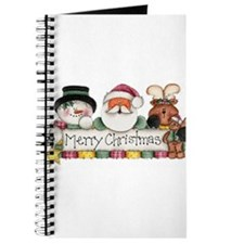 Merry Christmas Trio Journal