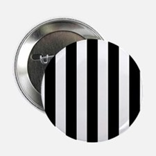 "Black and white vertical stripes 2.25"" Button (100"