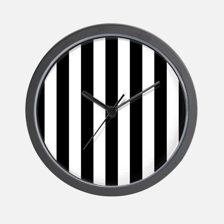 Black and white clocks black and white wall clocks - Black and white kitchen clock ...