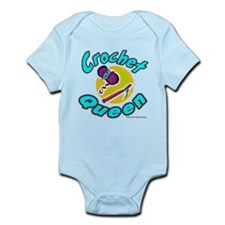 Crochet Queen Infant Bodysuit
