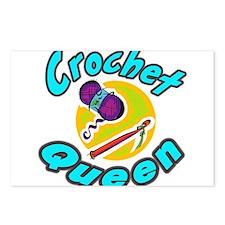 Crochet Queen Postcards (Package of 8)