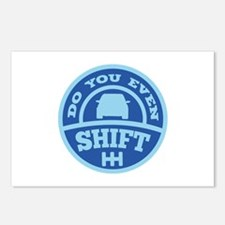 Do You Even Shift? Postcards (Package of 8)