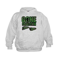 Gone Squatchin woodlands Hoody