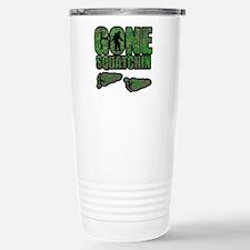Gone Squatchin woodlands Travel Mug