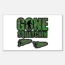 Gone Squatchin woodlands Decal