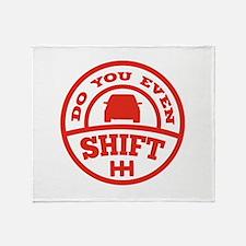 Do You Even Shift? Stadium Blanket