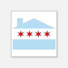 Chicago House Flag Sticker
