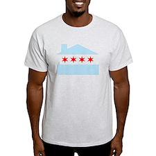 Chicago House Flag T-Shirt