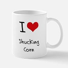 I Love Shucking Corn Mug