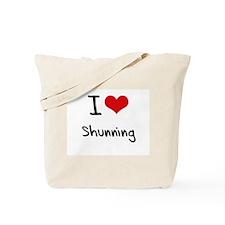 I Love Shunning Tote Bag