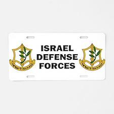 Cute Anti zionist Aluminum License Plate