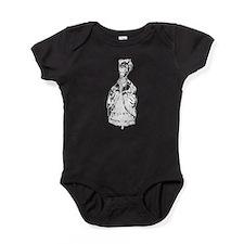 Marie Antoinette Graphic Baby Bodysuit