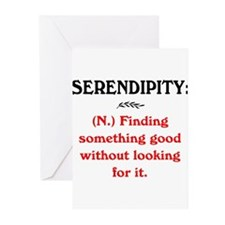 SERENDIPITY Greeting Cards (Pk of 20)