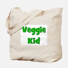 Veggie Kid - Green Tote Bag